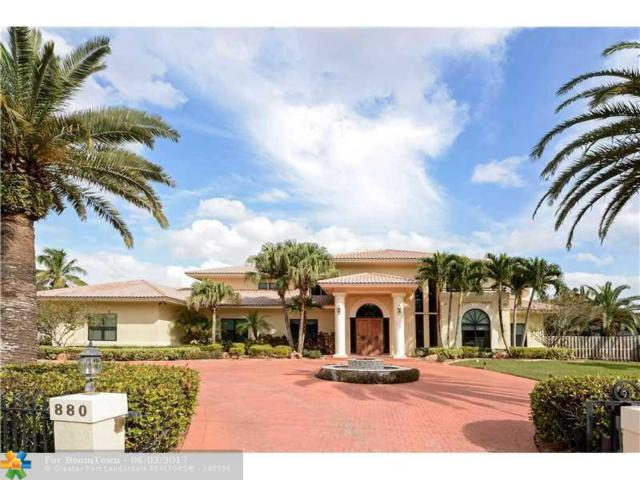 880 NW 121ST AVE, Plantation, FL 33325 (MLS #F10070360) :: Green Realty Properties