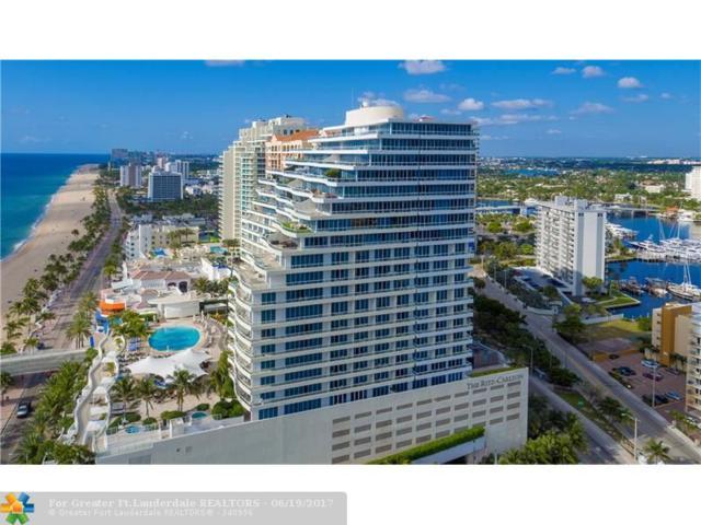 1 N Fort Lauderdale Beach Blvd #1712, Fort Lauderdale, FL 33304 (MLS #F10073082) :: Green Realty Properties