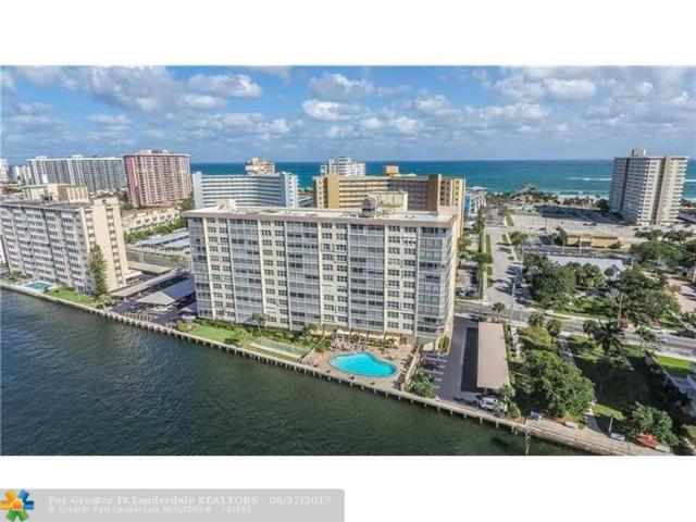 299 N Riverside Dr #506, Pompano Beach, FL 33062 (MLS #F10073828) :: RE/MAX Advisors