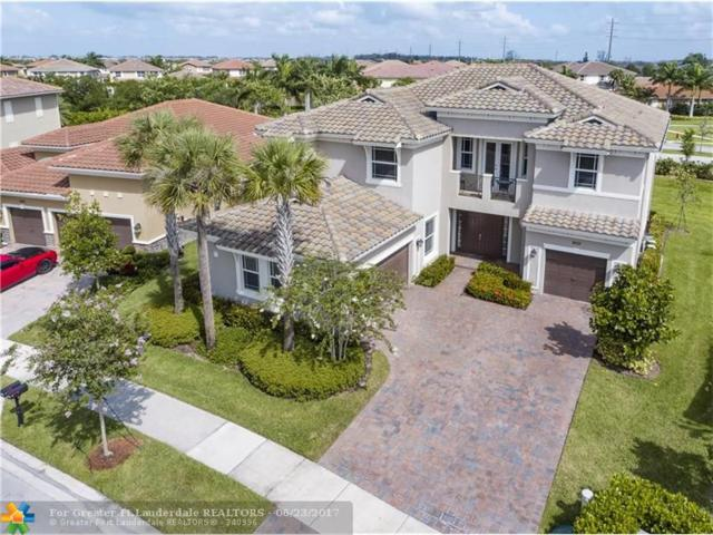 9101 Edgewater Bnd, Parkland, FL 33076 (MLS #F10074004) :: Green Realty Properties