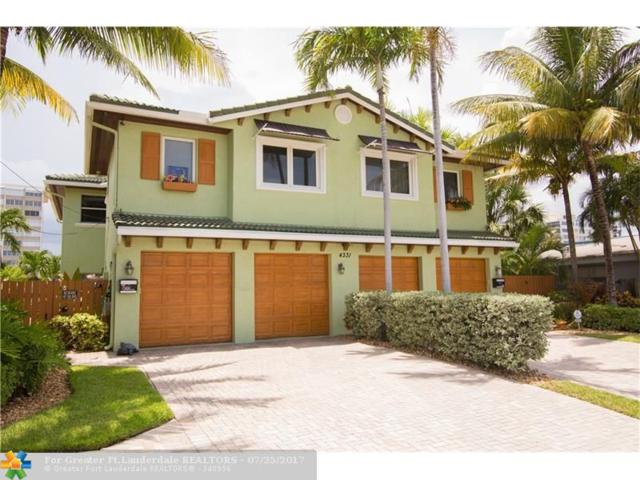 4331 W Tradewinds Ave #A, Lauderdale By The Sea, FL 33308 (MLS #F10078354) :: Castelli Real Estate Services