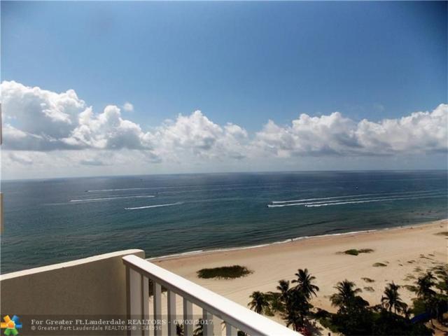750 N Ocean Blvd #1604, Pompano Beach, FL 33062 (MLS #F10080048) :: Green Realty Properties