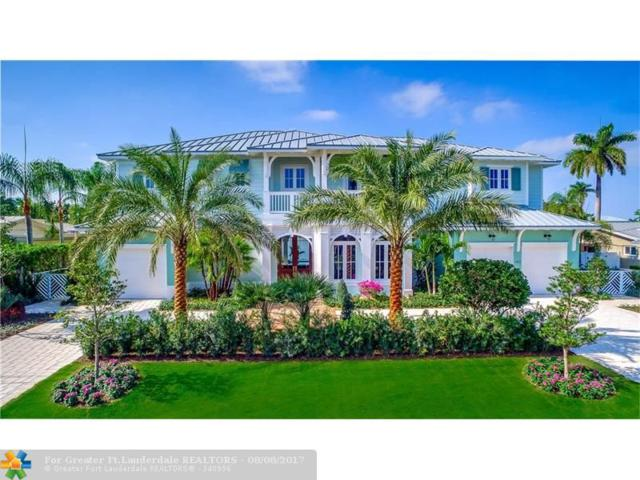 3401 NE 26th Ave, Lighthouse Point, FL 33064 (MLS #F10080769) :: Green Realty Properties