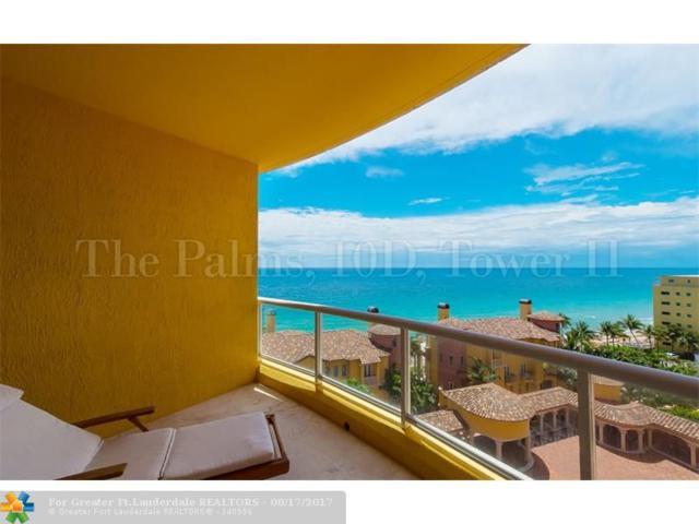 2110 N Ocean Bl 10D, Fort Lauderdale, FL 33305 (MLS #F10081027) :: Green Realty Properties