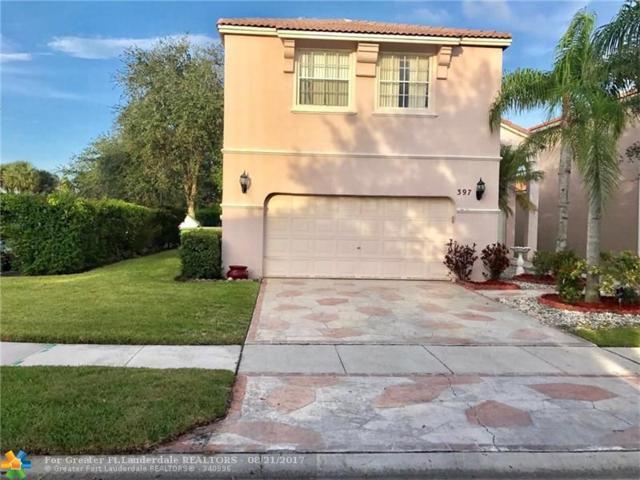 397 NW 152nd Ln, Pembroke Pines, FL 33028 (MLS #F10082555) :: Green Realty Properties