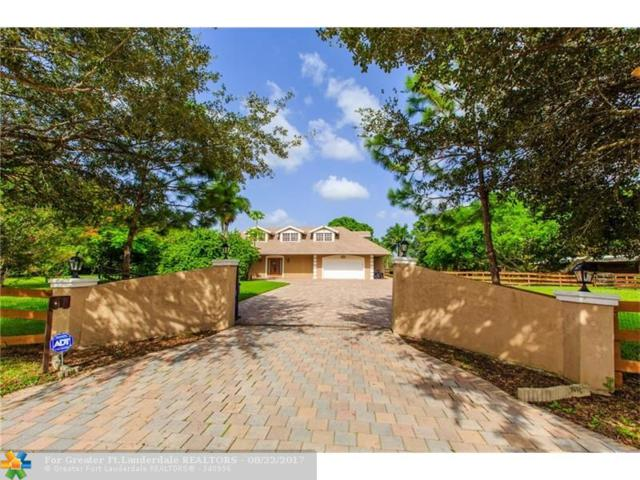 6400 SW 181st Ln, Southwest Ranches, FL 33331 (MLS #F10082721) :: Green Realty Properties