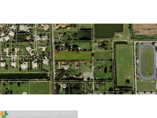 5400 SW 130 AVE, Southwest Ranches, FL 33330 (MLS #F10083296) :: Green Realty Properties