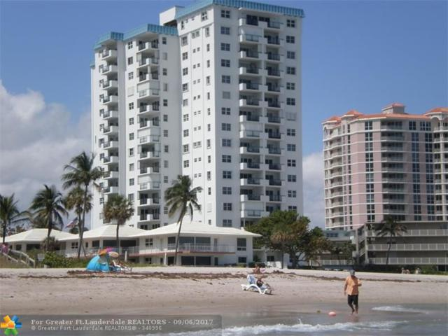 1500 S Ocean Blvd #908, Lauderdale By The Sea, FL 33062 (MLS #F10084856) :: Castelli Real Estate Services