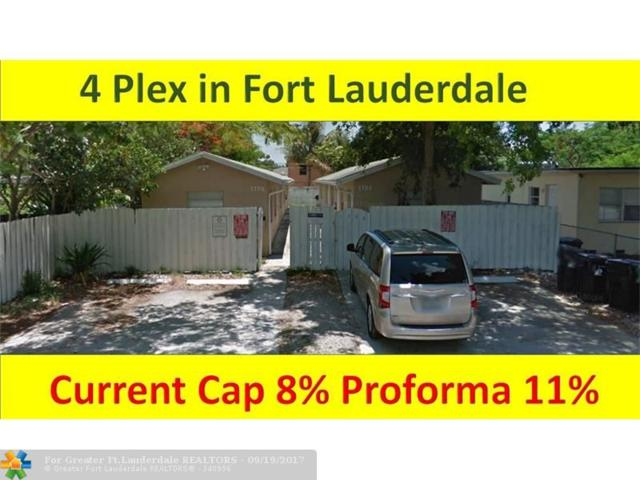1104 NW 7th Ave, Fort Lauderdale, FL 33311 (MLS #F10085002) :: Green Realty Properties
