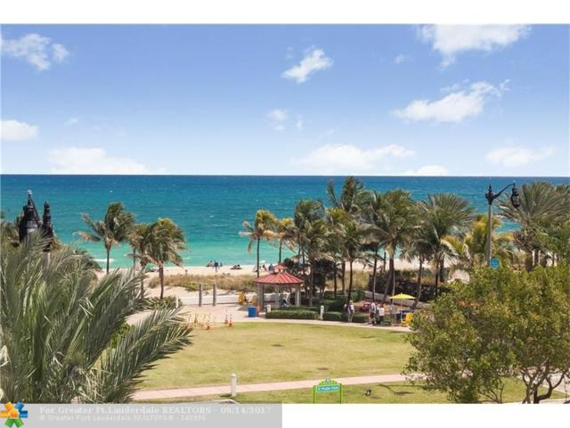 4511 El Mar Dr #404, Lauderdale By The Sea, FL 33308 (MLS #F10085115) :: Green Realty Properties