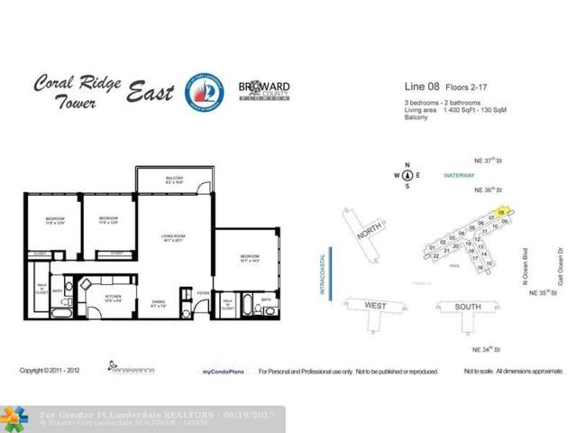 3300 NE 36th St #808, Fort Lauderdale, FL 33308 (MLS #F10085579) :: Green Realty Properties
