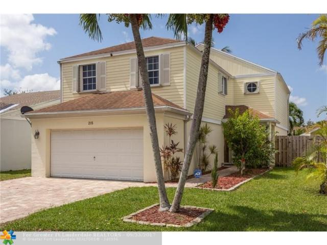 215 SW 159th Ter, Sunrise, FL 33326 (MLS #F10085973) :: Green Realty Properties