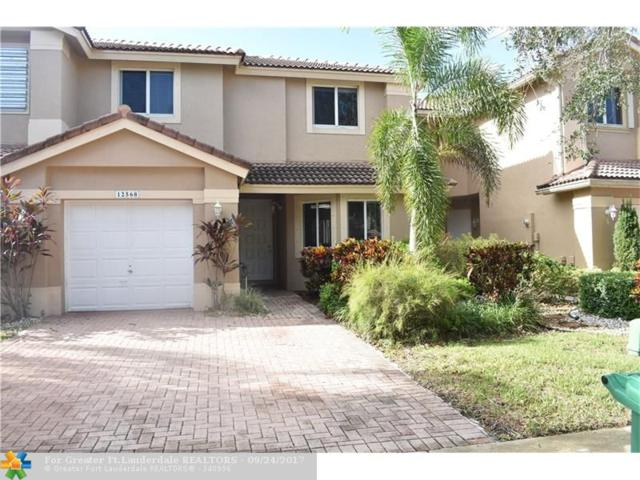 12568 NW 57 PL #12568, Coral Springs, FL 33076 (MLS #F10086115) :: Green Realty Properties