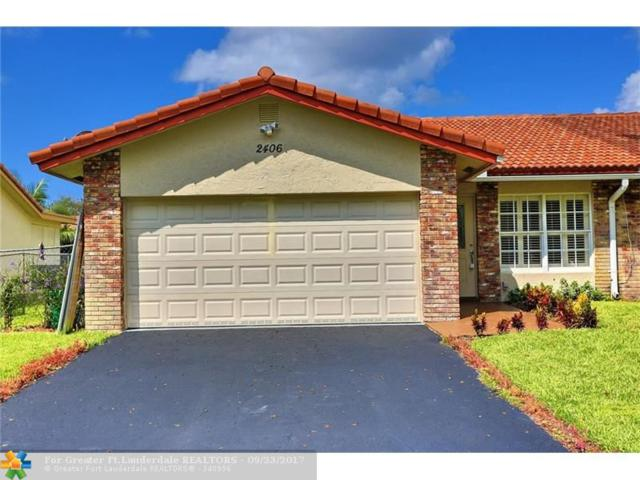 2406 NW 91st Ave, Coral Springs, FL 33065 (MLS #F10086173) :: Green Realty Properties