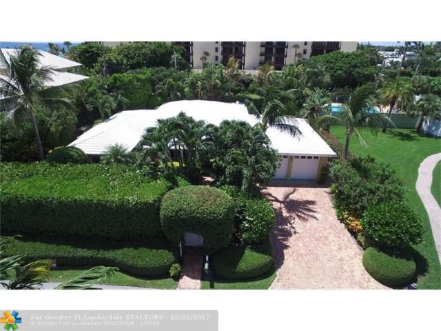 1126 Miramar Dr, Delray Beach, FL 33483 (MLS #F10087466) :: Green Realty Properties