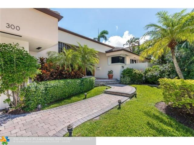 300 San Marco Dr, Fort Lauderdale, FL 33301 (MLS #F10089100) :: Green Realty Properties