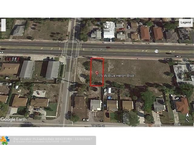175 W Blue Heron Blvd, Riviera Beach, FL 33404 (MLS #F10089721) :: Green Realty Properties