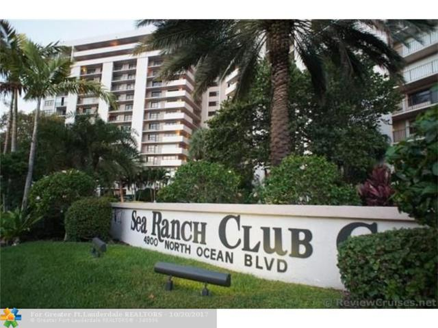 4900 N Ocean Blvd #212, Lauderdale By The Sea, FL 33308 (MLS #F10090375) :: Castelli Real Estate Services