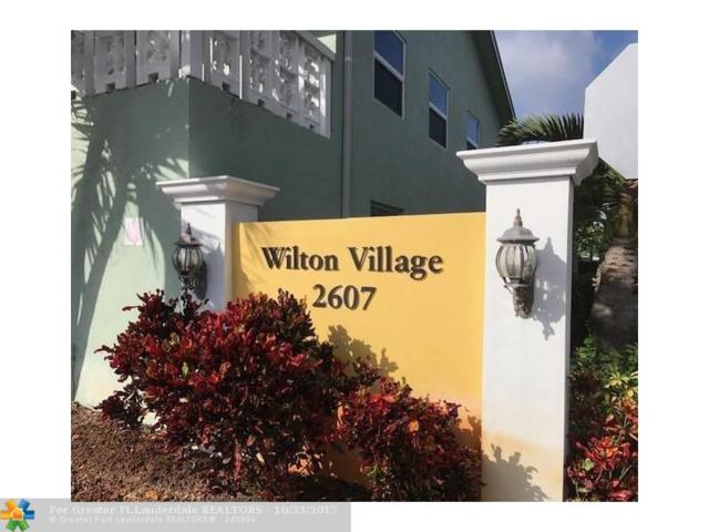2607 NE 8th Ave #46, Wilton Manors, FL 33334 (MLS #F10090614) :: Castelli Real Estate Services