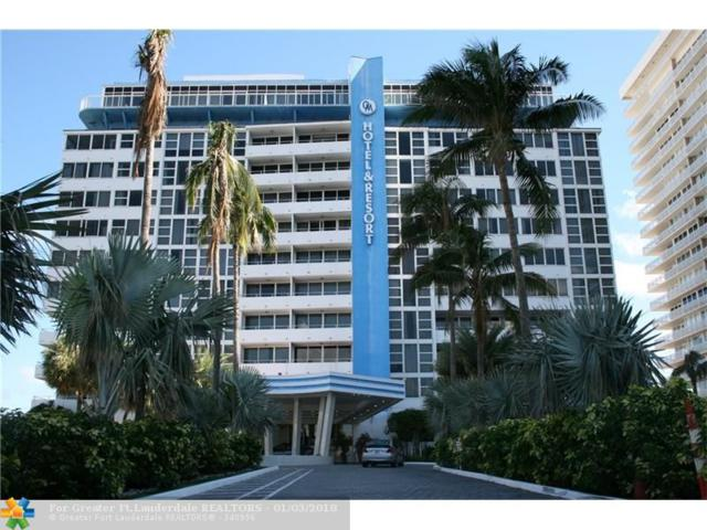 4040 Galt Ocean Dr #815, Fort Lauderdale, FL 33308 (MLS #F10093298) :: Green Realty Properties