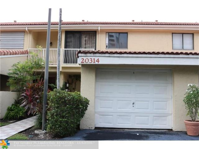 20314 NE 34th Ct #35, Aventura, FL 33180 (MLS #F10093874) :: Green Realty Properties
