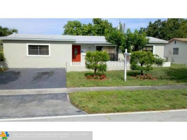 3930 NW 34th Ter, Lauderdale Lakes, FL 33309 (MLS #F10094601) :: Green Realty Properties