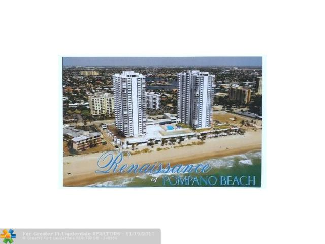 1370 S Ocean Blvd #2008, Pompano Beach, FL 33062 (MLS #F10094728) :: Green Realty Properties