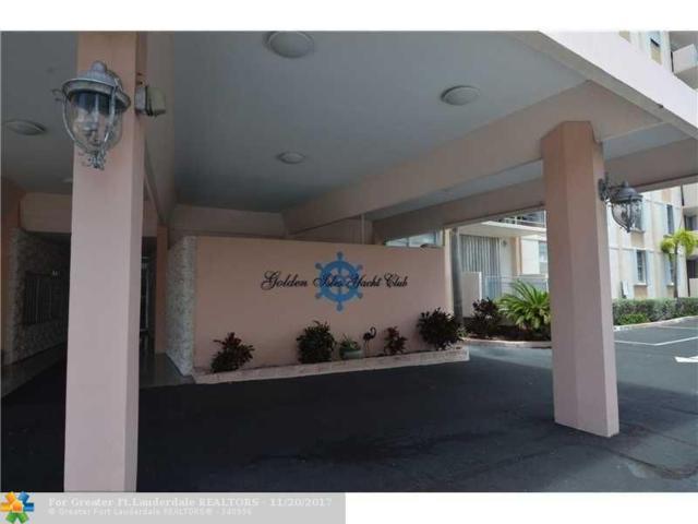 430 Golden Isles Drive #201, Hallandale, FL 33009 (MLS #F10094921) :: Green Realty Properties