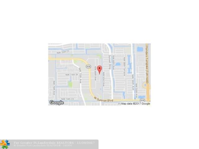1500 NW 65th Ave, Plantation, FL 33313 (MLS #F10094952) :: Green Realty Properties