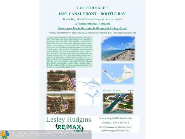 Bootle Bay- Grand Ba Other County, Other City - Keys/Islands/Caribbean, FL  (MLS #F10095107) :: Green Realty Properties
