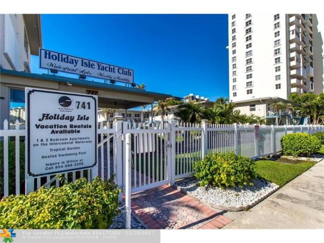 741 Bayshore Dr 26S, Fort Lauderdale, FL 33304 (MLS #F10095563) :: Green Realty Properties
