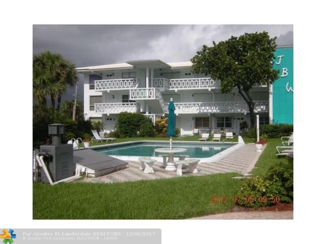 1751 S Ocean Blvd #104, Pompano Beach, FL 33062 (MLS #F10096913) :: Green Realty Properties