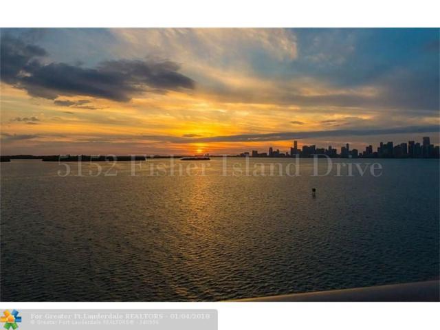 5152 Fisher Island Dr #5152, Fisher Island, FL 33109 (MLS #F10100377) :: Green Realty Properties
