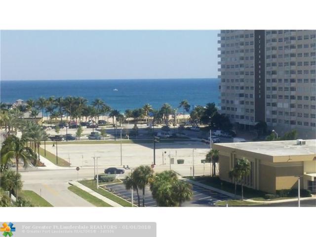 299 N Riverside Dr #807, Pompano Beach, FL 33062 (MLS #F10100637) :: Green Realty Properties