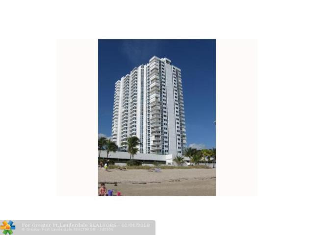 1360 S Ocean Blvd #703, Pompano Beach, FL 33062 (MLS #F10100642) :: Green Realty Properties