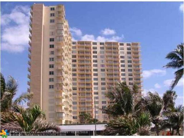750 N Ocean Blvd #1506, Pompano Beach, FL 33062 (MLS #F10100650) :: Green Realty Properties