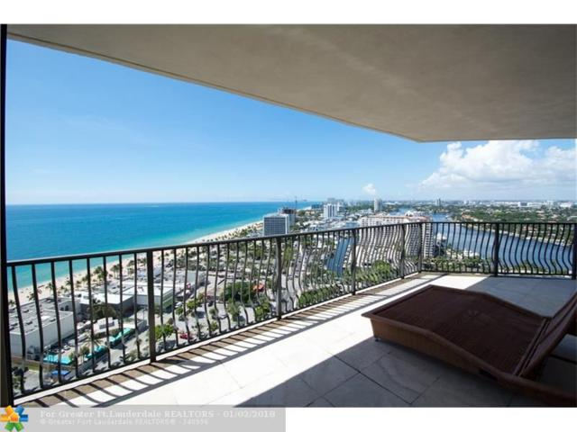 100 S Birch Rd #2401, Fort Lauderdale, FL 33316 (MLS #F10100846) :: The O'Flaherty Team