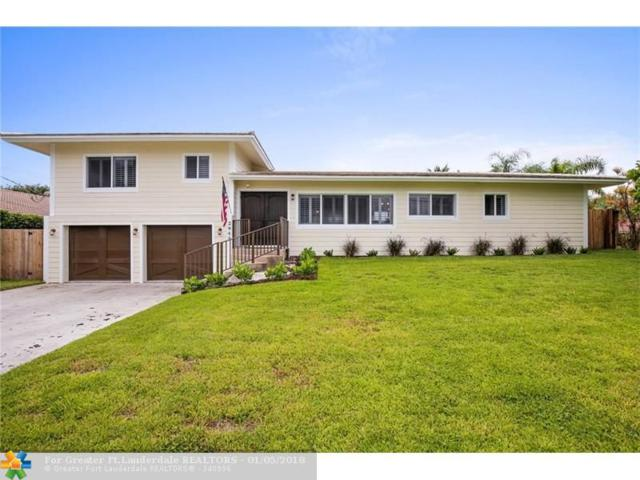 2948 NE 35th Ct, Lighthouse Point, FL 33064 (MLS #F10101027) :: Green Realty Properties