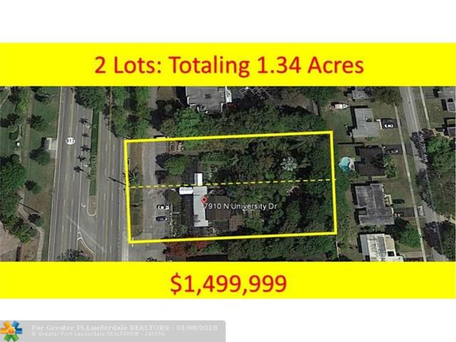 7910 N University Dr, Tamarac, FL 33321 (MLS #F10101034) :: Green Realty Properties
