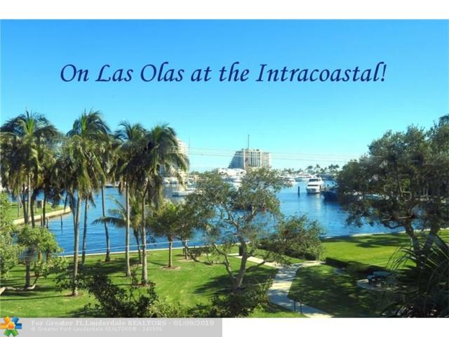 2500 E Las Olas Blvd #302, Fort Lauderdale, FL 33301 (MLS #F10101390) :: Green Realty Properties