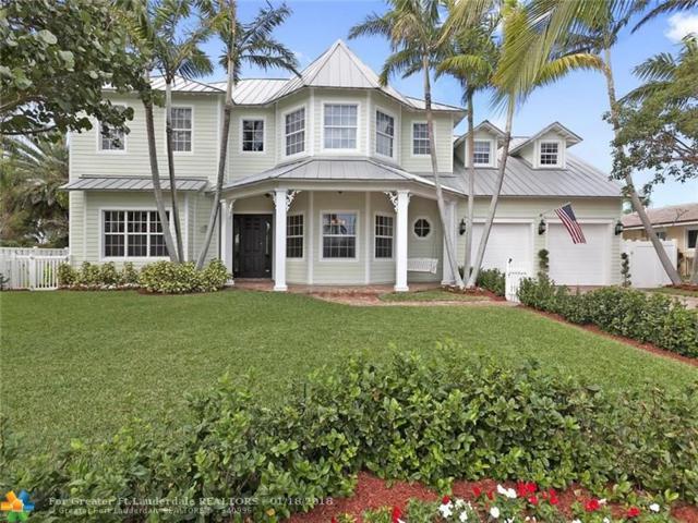 3433 NE 31ST AV, Lighthouse Point, FL 33064 (MLS #F10103228) :: Green Realty Properties