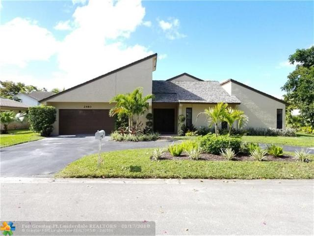 2480 NW 115th Ave, Coral Springs, FL 33065 (MLS #F10103282) :: The O'Flaherty Team