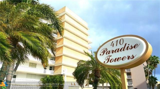 410 Golden Isles Dr #202, Hallandale, FL 33009 (MLS #F10103740) :: Green Realty Properties