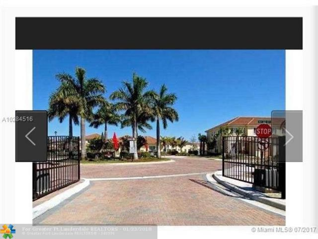 3195 NW 31st Ter #3195, Oakland Park, FL 33309 (MLS #F10104167) :: Castelli Real Estate Services