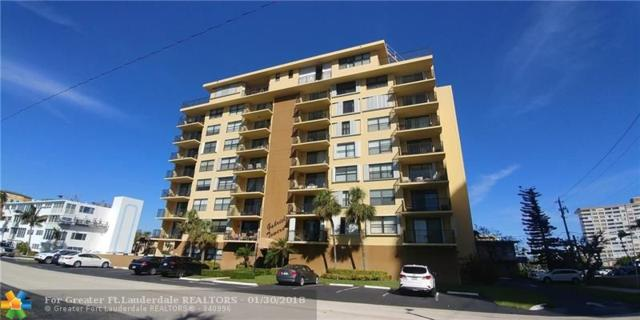 801 N Ocean Blvd #404, Pompano Beach, FL 33062 (MLS #F10105299) :: Green Realty Properties