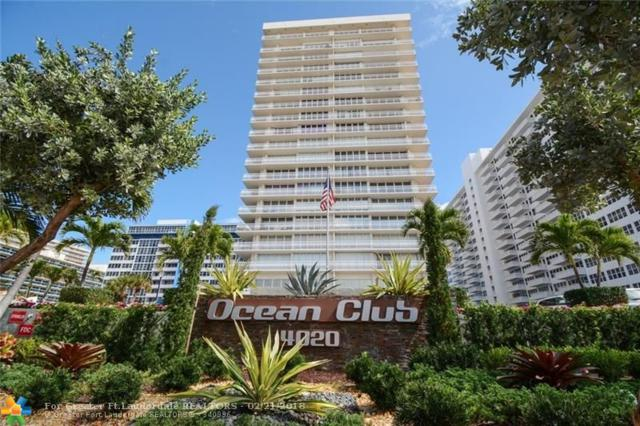 4020 Galt Ocean Dr #1005, Fort Lauderdale, FL 33308 (MLS #F10105515) :: Green Realty Properties