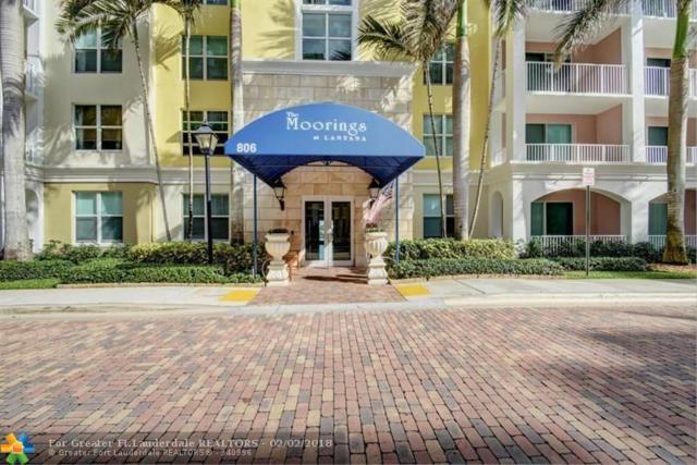 806 E Windward Way #204, Lantana, FL 33462 (MLS #F10106972) :: Green Realty Properties