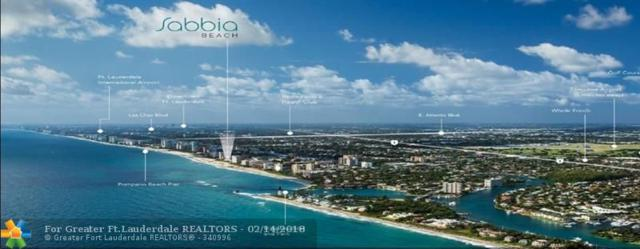 730 N Ocean Blvd #1403, Pompano Beach, FL 33062 (MLS #F10108054) :: Green Realty Properties