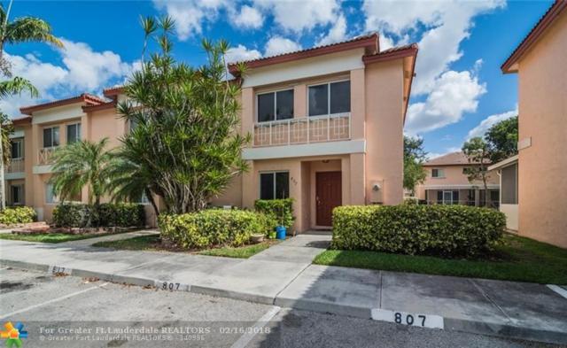 807 NW 208th Dr #807, Pembroke Pines, FL 33029 (MLS #F10109124) :: Green Realty Properties