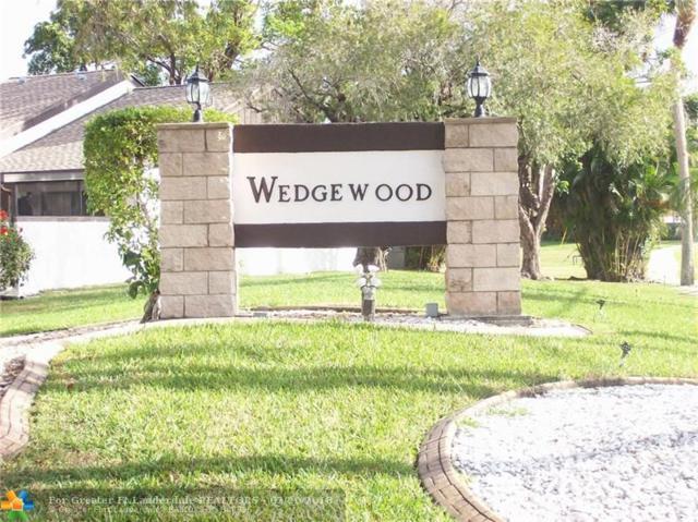 9268 Wedgewood Dr D-14, Tamarac, FL 33321 (MLS #F10109700) :: Green Realty Properties